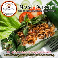 Nasi Bakar Ikan Cakalang/ Ayam Jamur/ Cumi Petai/ Ikan Peda Petai