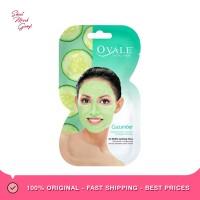 OVALE Cucumber Facial Mask Sachet Masker Wajah Timun [15 g]