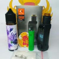 Promo Authentic Paket Ngebul Aegis Solo Mini Kit Rda 100Watt Orig
