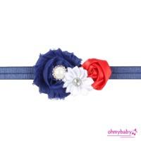 New Baby Knit Crochet Top Knot Elastic turban Headband Baby Head