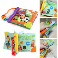 Baby Early Education Animal Pattern Sound Books with BB Device