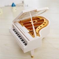 Kotak Musik Bentuk Piano Klasik untuk Hadiah Natal / Ulang Tahun