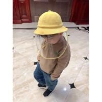 Children's Mask Caps Protective Fisherman Hat Mask Hat Corona Virus