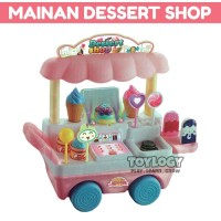 Mainan Anak Sweet Candy Ice Cream Cart Gerobak Dorong Es Krim Permen