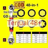 Kunci Pas Tiger Wrench Multifungsi 48 in 1 - GJ013