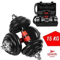 Barbel Dumbbell Set 15kg Speeds LX-014-9