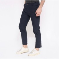 Celana Panjang Pria Chino Pants Stylehaus Dark Blue Navy Kantor Kasual