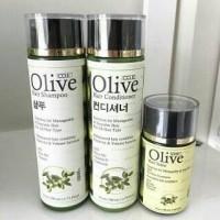 Paket Olive - Olive Shampoo + Olive Conditioner + Olive Hair tonicBPOM