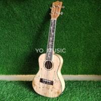 Ukulele Solid Wood 25 inch Tenor + EQ Tuner Ukulele UK 300T Original