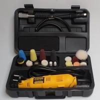 Nano Polisher /Mini polishing / Paket Mesin Poles Mini Dengan ABS Bag