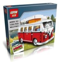 Lepin 21001 Volkswagen T1 Camper Van Compatible Lego 10220