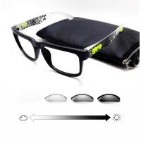 kacamata SPY Paket Free Lensa Photocromic minus Antiradiasi uv