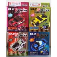 Bricks Intellect no. 1-4 set isi 4