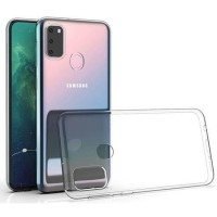 SAMSUNG A31 TPU CLEAR CASE SILICON BENING TRANSPARANT CASE JELLY CLEAR