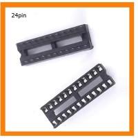 DIP IC Sockets Adaptor Solder Type Socket Narrow 24Pin