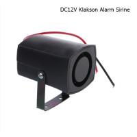 Klakson Alarm Sirine Slim Invisible DC12V