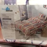 bed cover merk kris home / sleep lite ukuran 150 x 220 cm single bed