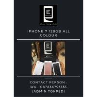 IPHONE 7 128GB SECOND ORIGINAL TERMURAH LIKE NEW