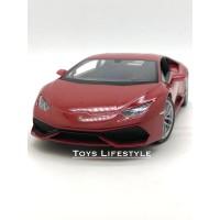 Welly Diecast - Lamborghini Huracan Skala 1:24 (Merah)