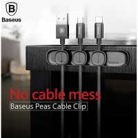 BASEUS PEAS CABLE CLIP HOLDER MAGNETIC USB ORGANIZER KABEL CHARGER