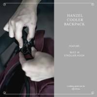 Di Jual BabyGo Inc - BabyGoinc Hanzel Cooler Backpack Diaper Bag