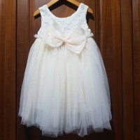 Dress Anak Brukat Tile Import