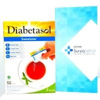 Diabetasol Sweetener isi 50 sachet - Gula Diabetasol