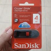 Sandisk Cruzer Glide 4GB Usb Flash Drive Flashdisk Sandisk