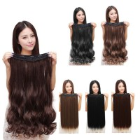 TMR Fashion 3/4 Full head Clip In Hair Extensions Straight Curly