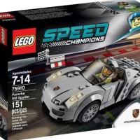 TERLARIS LEGO 75910 SPEED CHAMPIONS Porsche 918 Spyder Berkualitas