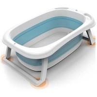 BABYINNER Bak Mandi Bayi Lipat Foldable Baby Bathtub 82x50 cm - BZ-201