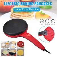 Panci Crepe Elektrik Portable Anti Lengket Untuk Membuat Pizza /