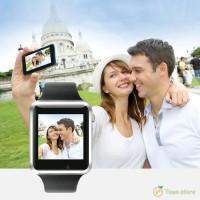 Smart Watch Bluetooth Layar Sentuh Dengan Pedometer Dan Monitor Tid TG