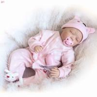 Npk Mainan Boneka Bayi Lifelike Reborn Lifelike Bahan Silikon 22