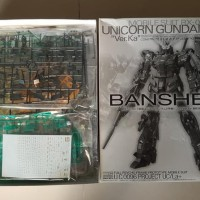 BEST QUALITY Banshee Unicorn Gundam 02 Ver. Ka .MG 1.100. ORIGINAL