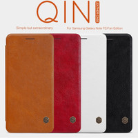 Flip Cover Nillkin Qin Leather Samsung Galaxy Note 7 / FE Case Ori