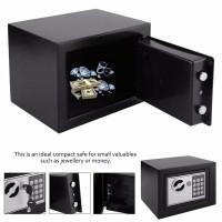 Brankas Safe Deposit Box Mini Elektrik Password Tempat Penyimpanan