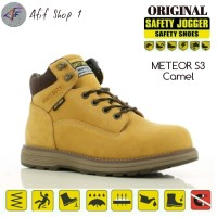 Sepatu Safety Jogger Meteor S3 HRO Camel - Safety Shoes Jogger