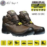 Sepatu Safety Jogger Mars S3 Original Coklat