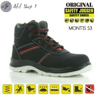 Sepatu Safety Jogger MONTIS S3 SRC Original / Safety shoes jogger