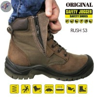Sepatu Safety Joger Rush Brown S3