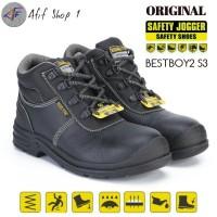 Sepatu Safety Jogger Bestboy2 S3 Black Murah / Safety jogger Bestboy