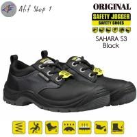 Sepatu Safety Jogger Sahara S3 Hitam Original - Joger Sahara S3