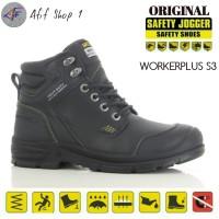 Sepatu Safety Shoes Jogger Workerplus S3 SRC Origonal / safety shoes
