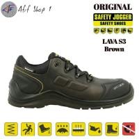 Sepatu Safety Jogger Lava S3 Dark Brown ORIGINAL / Safety Shoes Jogger