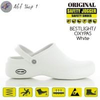 Sepatu Safety Jogger Bestlight White / Sandal Safety / Sepatu Sandal