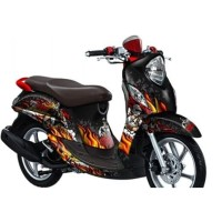 decal sticker striping YAMAHA FINO full body