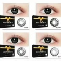 Koko Black Softlens Warna hitam by Exoticon big eyes besarin mata