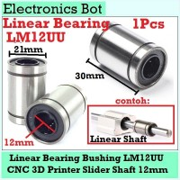[EBS] LM12UU Linear Motion Bearing Bushing 12mm CNC 3D Printer Mekanik