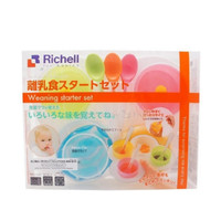 Special Price - Richell - Weaning starter kit - Set Peralatan Tempat M